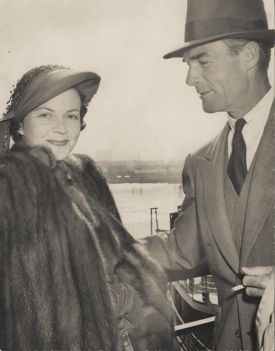 Randolph Scott and Patricia Stillman